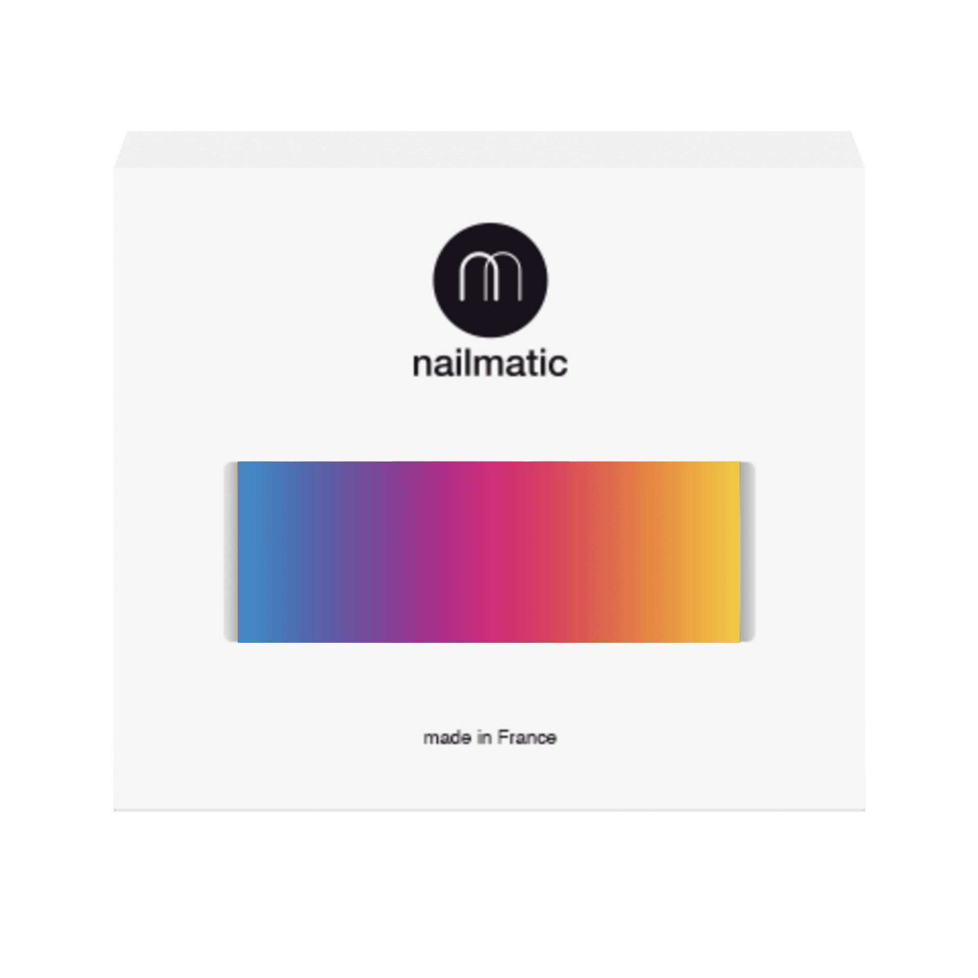 Iman taupe brown nail polish nailmatic Sdb chocolat taupe