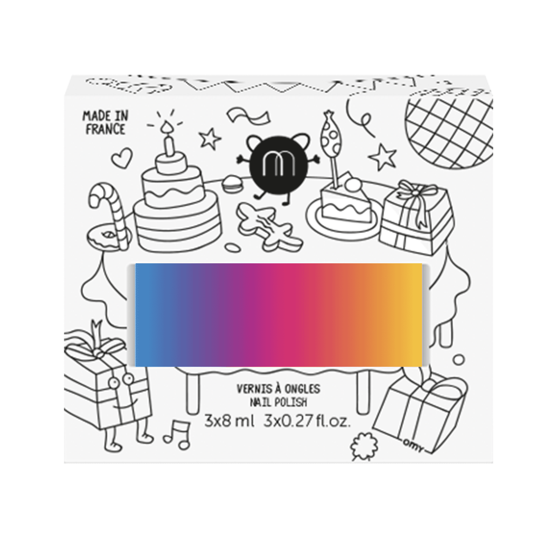 Beige polka-dot cat plush cushion - Craftholic